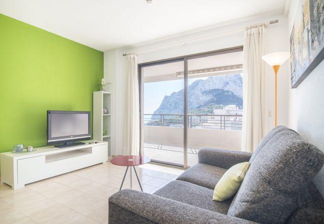 in Calpe - Eerstelijn / Wifi / Spa / Seaviews / Verwarmd zwembad / Huisdieren